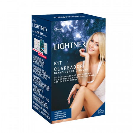 Kit Clareador Banho de Lua Diamond Lightner