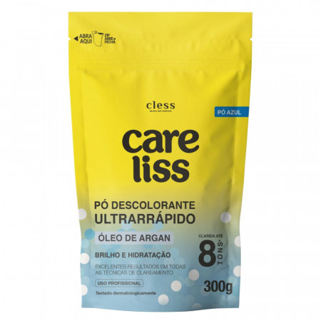 Pó Descolorante Argan Care Liss 300g Slim