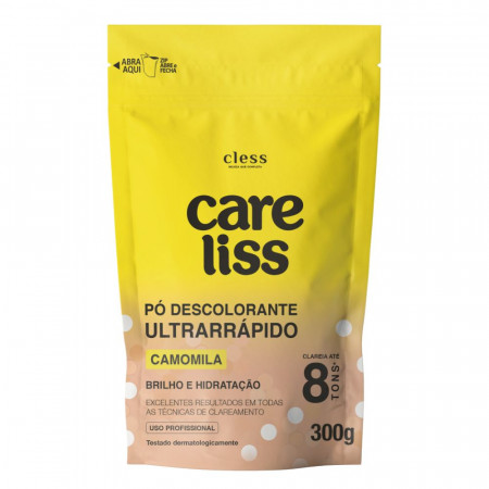 Pó Descolorante Camomila Care Liss 300g